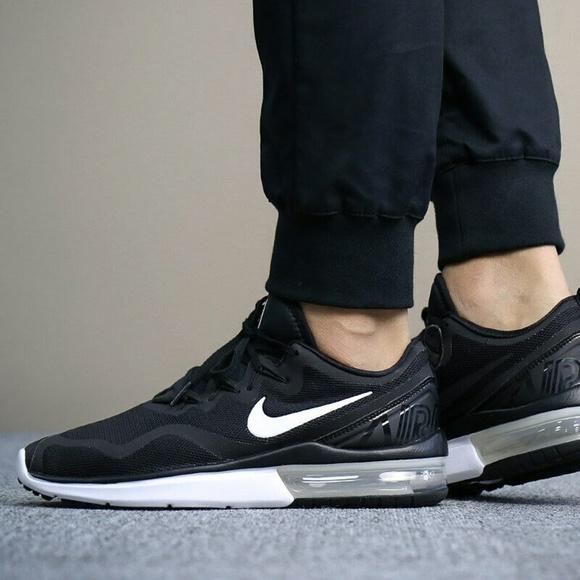 68a2e44db6c New Nike Air Max Fury Black Running Shoes